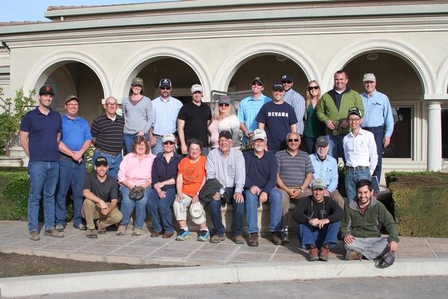 March 2014 field tour at Duarte Nursery.