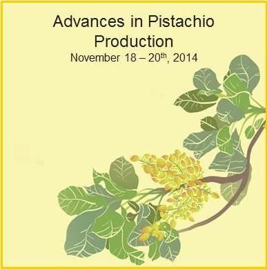 Advances in Pistachio Production logo
