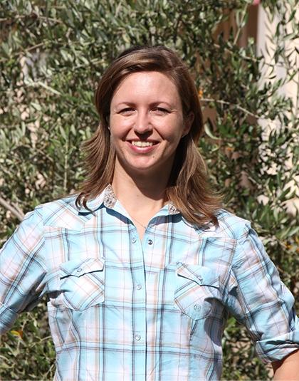Katherine Pope, UCCE Orchard Advisor, Sacramento-Solano-Yolo Counties.