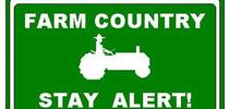 Farm country sign for Farming in the Foothills Blog