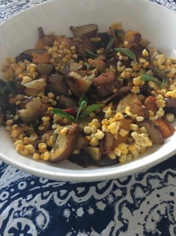 Roasted Potato Corn Medley