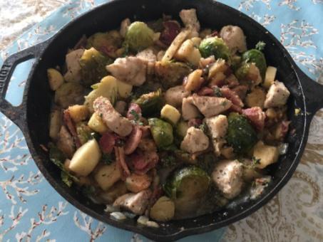 Recipes HarvestChickenSkillet01