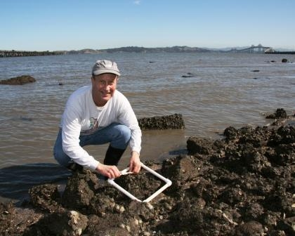 Ted Grosholz, estuarine ecologist at UC Davis
