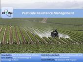 New online course focuses on pesticide resistance.