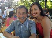 Isao Fujimoto and his daughter, Esumi.