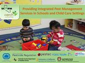 UC IPM's online course for IPM in school and child care settings satisfies the new training requirement of the Healthy Schools Act.