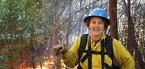 Lenya Quinn-Davidson, UC Cooperative Extension advisor and director of the Northern California Prescribed Fire Council, is organizing the first-ever Women-in-Fire Prescribed Fire Training Exchange. Photo by Larry Luckham for Green Blog Blog