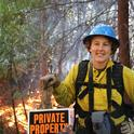 Lenya Quinn-Davidson, UC Cooperative Extension advisor and director of the Northern California Prescribed Fire Council, is organizing the first-ever Women-in-Fire Prescribed Fire Training Exchange. Photo by Larry Luckham