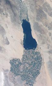 Salton Sea. Photo courtesy of NASA