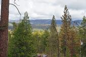Dead trees can be seen in the foreground and on the distant mountain side. (Click on photos for higher resolution.)