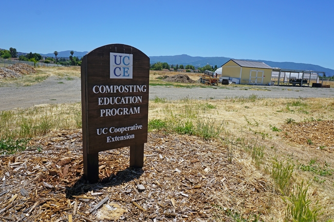 The UC Cooperative Extension Compost Education Program facility at Martial Cottle Park in San Jose. for Green Blog Blog