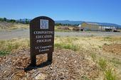 The UC Cooperative Extension Compost Education Program facility at Martial Cottle Park in San Jose.