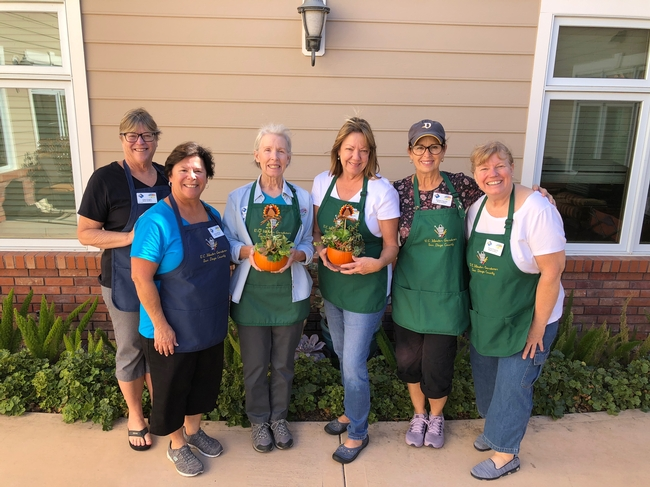 A team of UC Master Gardener volunteers were inspired to serve new parts of their community with the Reminiscence Gardening project. Photo: Debbie Handal