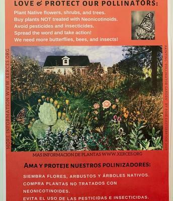 California Naturalists' efforts benefit pollinators