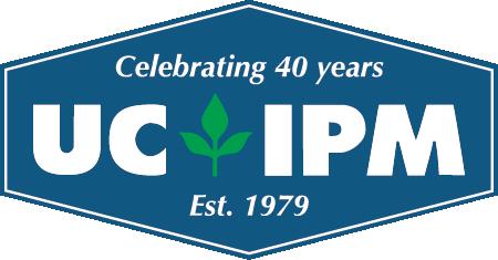 UC IPM 40 year logo.