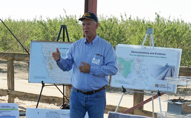 UCCE advisor Dan Munk said that, historically, San Joaquin Valley soils are in the U.S. Soil Taxonomy as mollisol, characterized by a significant accumulation of humus.