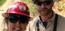 The Prescribed Burn Association formed by Lenya Quinn-Davidson and Jeffery Stackhouse, UCCE advisors in Humboldt County, was selected by CSAC for its statewide Challenge Award. for Green Blog Blog