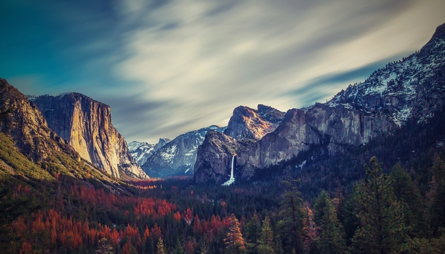 Simply gazing at pictures of nature, such as beautiful Yosemite Valley image, can prevent and relieve stress. (Photo: WalkerSSK from Pixabay)