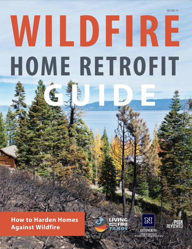 A new home retrofit guide identifies 12 vulnerable components of homes in wildfire-prone areas.