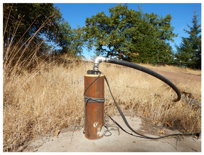 Well pump for irrigation