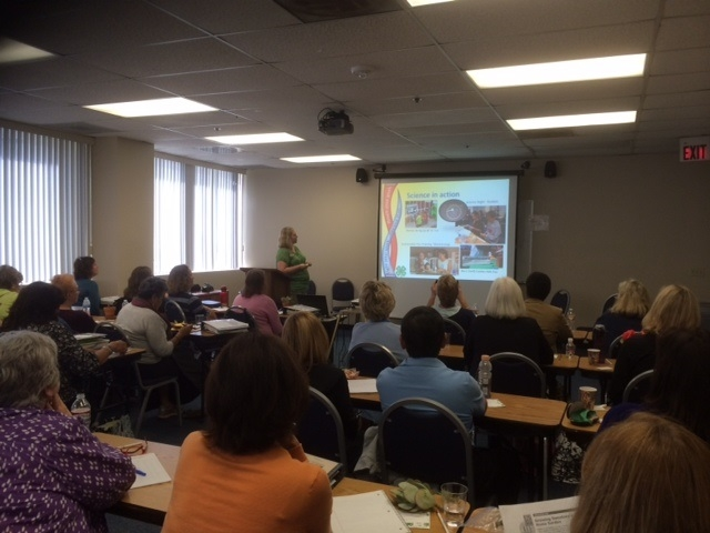 Master Gardener trainees learn about Ventrua County 4-H community club activities and 4-H education programs at HAREC
