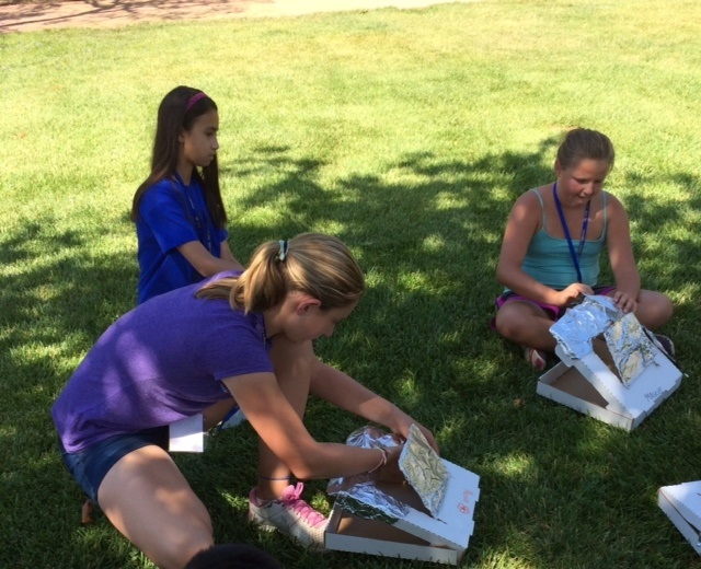 Making individual solar oven