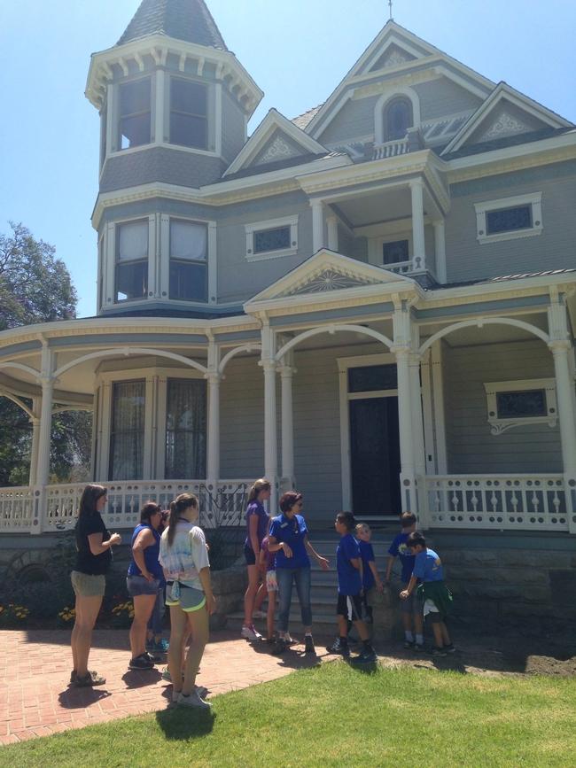 Touring Faulkner House