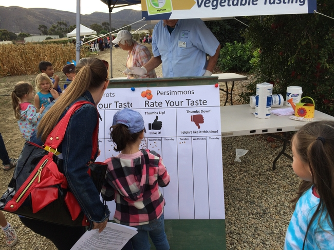 Students encouraged to Rate the Taste