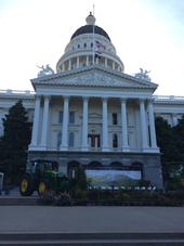 West steps of capitol ready for Ag Day