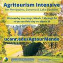 Agritourism Intensive Mendo - FB Tw