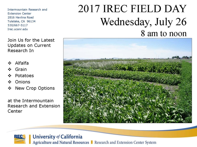 2017 IREC Field Day Flyer