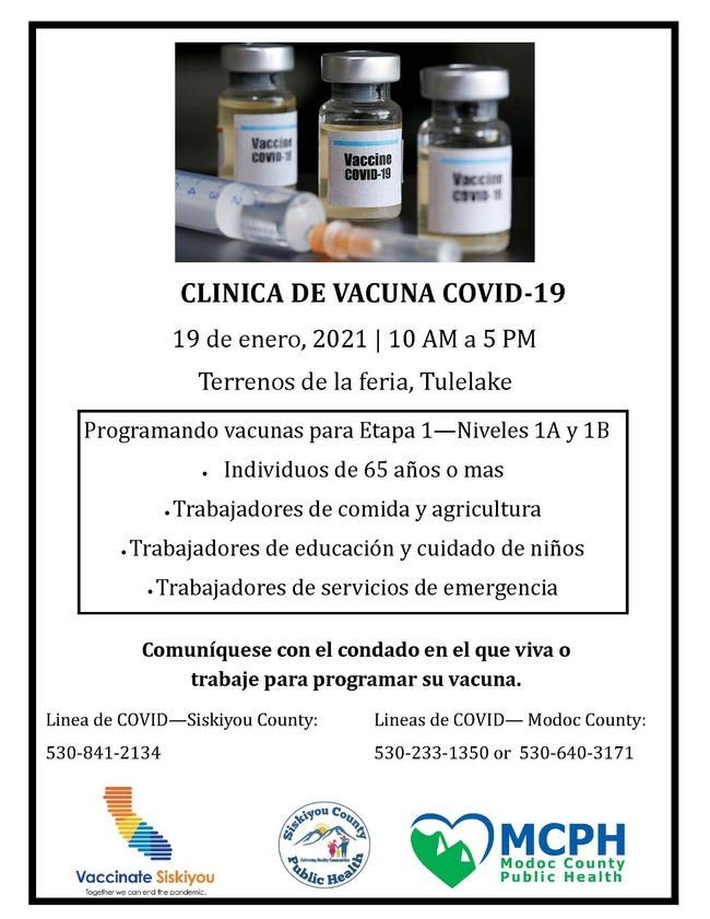 CLINICA DE VACUNA COVID-19