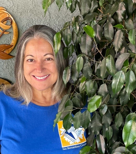 Conseula (Connie) Davis is one of our 'spotlight' Master Gardeners