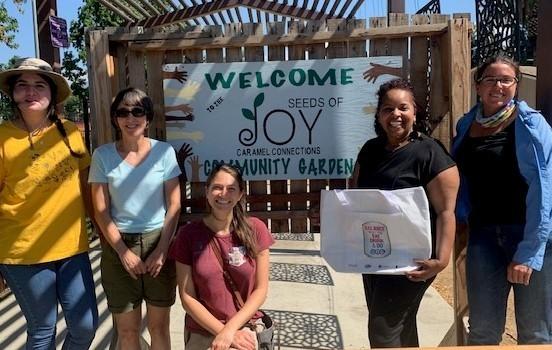 seeds of joy community garden in ontario california