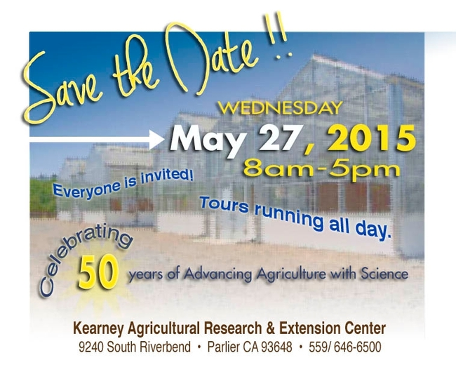 The public is invited to attend Kearney's 50th anniversary.