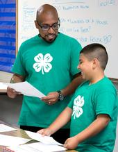 Building relationships is an important part of establishing a new 4-H program.
