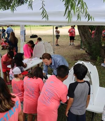 UC scientists teach rural youth about river health