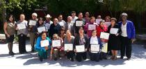 Seniors receive certificates for Quality of Life Education classes. (Photo: UCCE Alameda staff) for UC ANR Knowledge Stream Blog