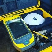 Handheld Trimble GPS