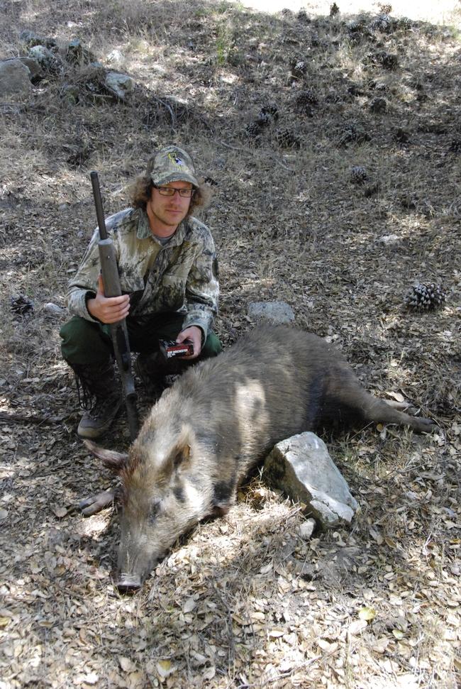 Dan Ryan hunting with copper bullets. Photo Credit: Dan Ryan