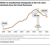 Immigrant Births declining