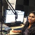 Erika Hernandez, MICOP Community Leader and Radio Indigena DJ - Courtesy Arcenio Lopez