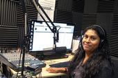 Erika Hernandez, MICOP Community Leader and Radio Indigena DJ - Courtesy Arcenio Lopez