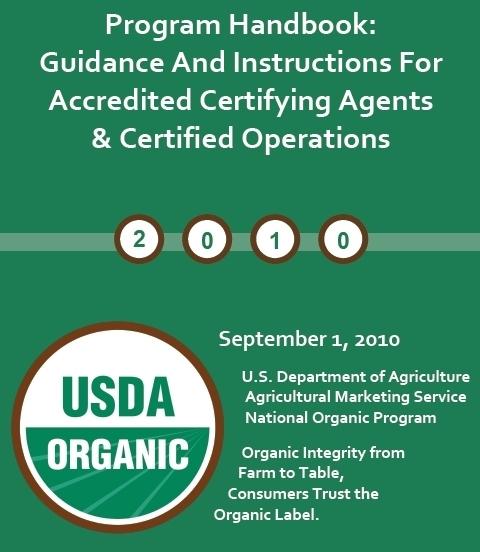 Organic Handbook