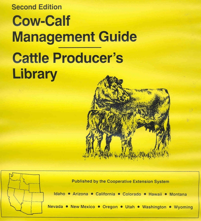 Cow-Calf Management Guide cover