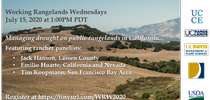 Working Rangelands Rancher Panel for UCCE Livestock & Range Topics Blog