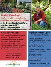 May-12-17-Garden-Workshop--Perennials Speaker