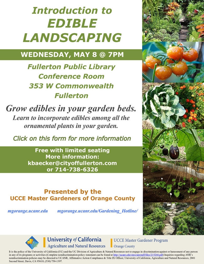 Did You Know About Introduction to Edible Landscaping?