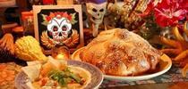 Altar con comida for Nuestra Comunidad Blog