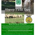 Sheep Field Day Flyer